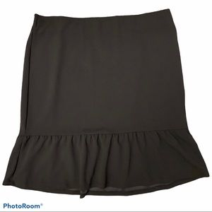 Roz & Ali Plus Sized Trumpet Style Skirt
